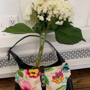 Vintage Gucci flowers bag.